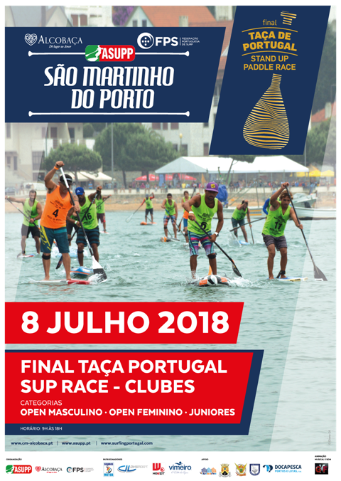 final Taça Portugal Stand Up Paddle Race