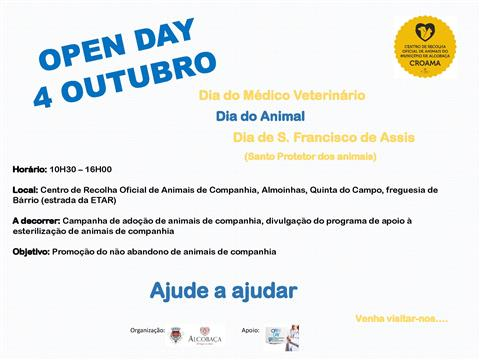 Participe no Open Day do CROAMA